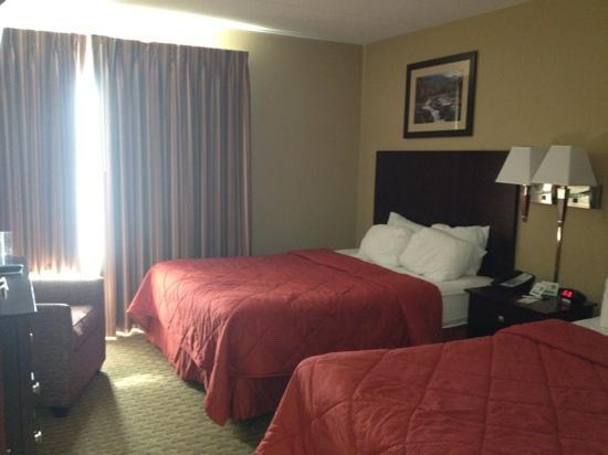 Comfort Inn & Suites : bedroom