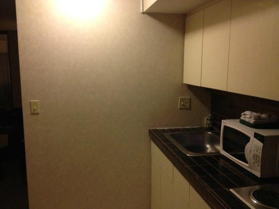 Aston at the Executive Centre Hotel: kitchenette