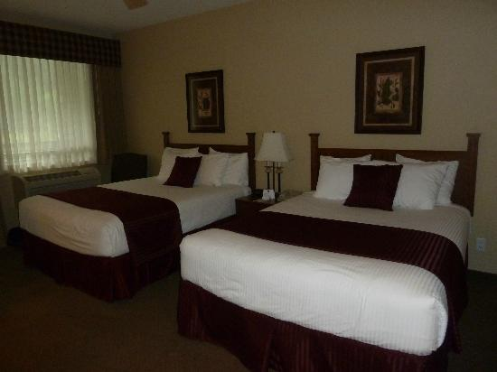 BEST WESTERN PLUS Lodge at River's Edge: Nice room size, very clean