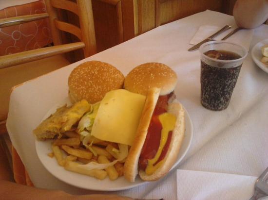 Hotel Bon Repos: buffet almuerzo