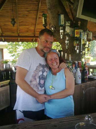 Asena Motel: The lovely owner Volcan & Sebnam