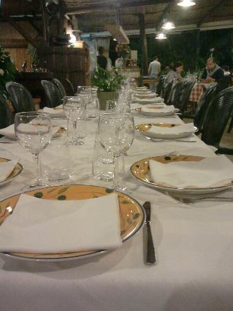 Ristorante Da Filippo : Nostro tavolo