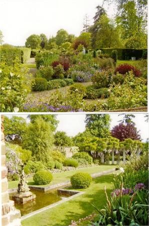 Ashford, UK: Gardens in Godington House