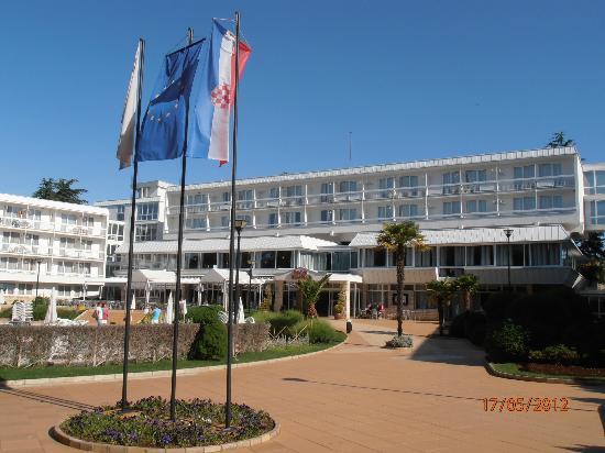 Aminess Laguna Hotel: Ankunft im Hotel Laguna