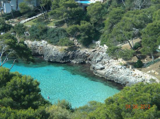 Hotel Marina Corfu: playa del hotel