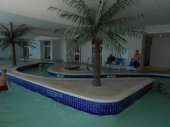 Indoor Lazy River Heated Picture Of Sandy Beach Resort Myrtle Beach Tripadvisor