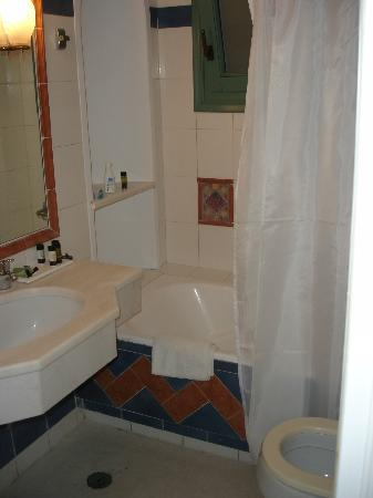 Semeli Hotel: bathroom