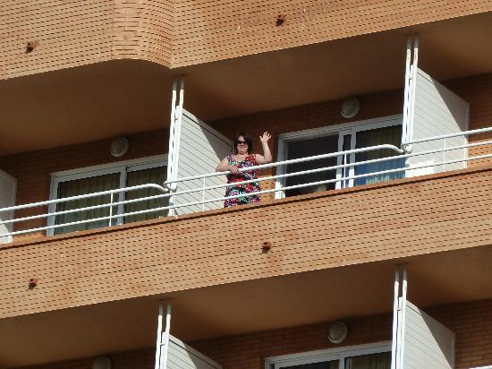 Prestige Sant Marc Hotel : The Balcony of our room