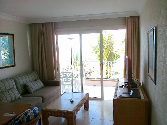 Apartamentos Fariones: Sitting Area