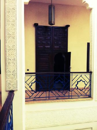 Riad Charlott': Door to our room