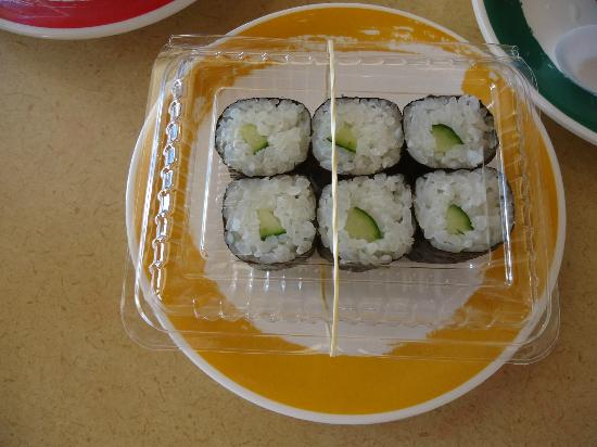 Genki Sushi Hawaii Incorporated: Seedless Cucumber or Kappa Maki Sushi