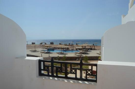 Daniela Village Dahab: Balcony view