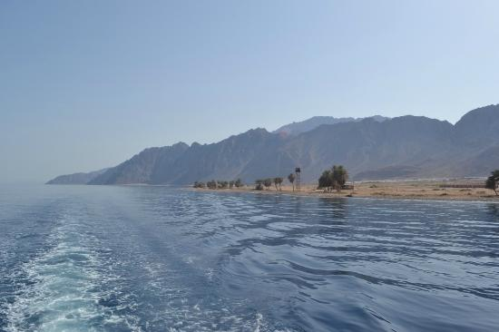 Daniela Village Dahab: View from boat on boat trip