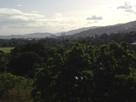 Hilton Trinidad and Conference Centre: westerly view