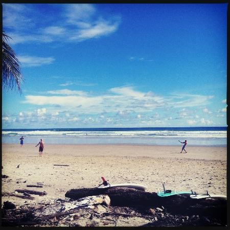 Montezuma Surf School with Chris Johnson: playa hermosa