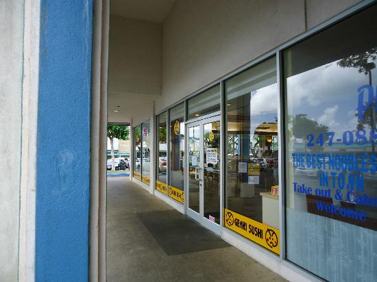 Genki Sushi Hawaii Incorporated: Genki Sushi in the Windward City Shopping Center in Kaneohe Hawaii USA
