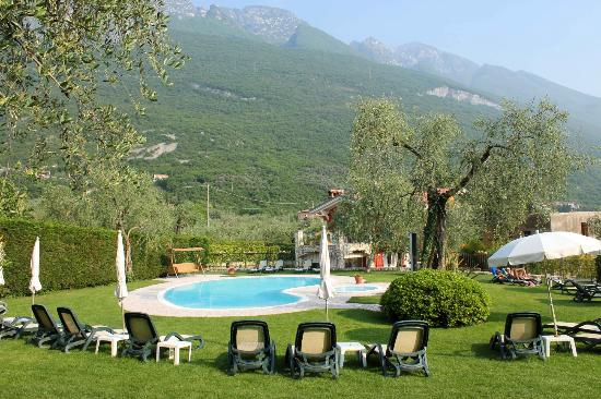 Hotel Benacus Malcesine: Relaxing by the Pool