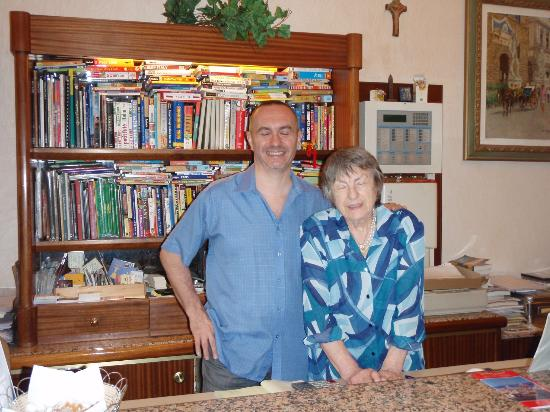 Hotel Casci: Our gracious hosts, Paolo and Carla