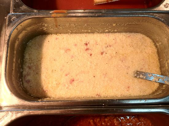 Iberostar Bellevue: split carbonara sauce like a sink-full of vomit