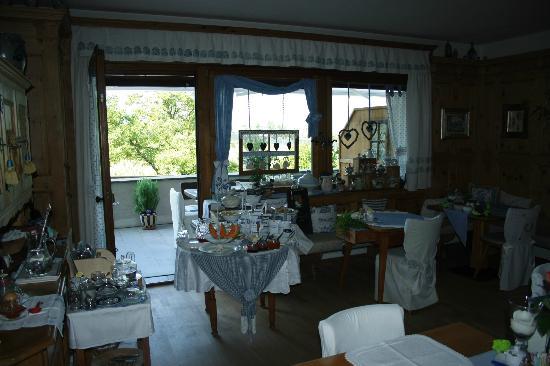 Pension Backsteinerhof: stanza colazione