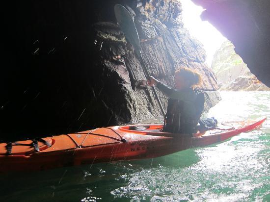 Irish Adventures: Kayaking through sea caves
