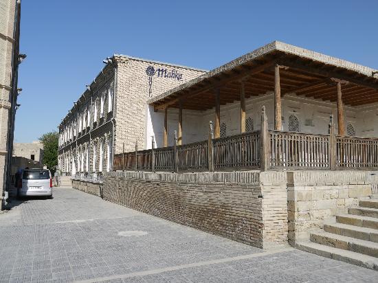 Hotel Malika Bukhara: Ansicht von der Stadt aus