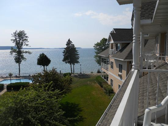 Westwood Shores Waterfront Resort: View from room