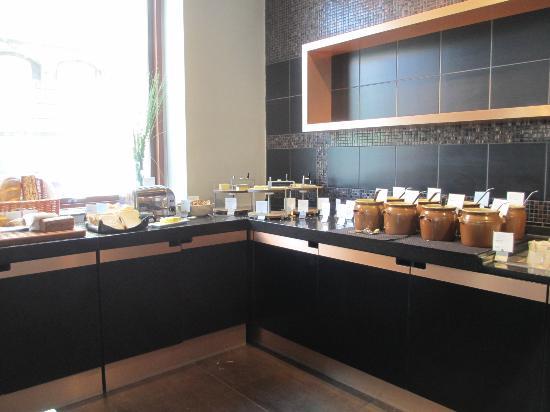 Scandic Front: Buffet du petit déjeuner