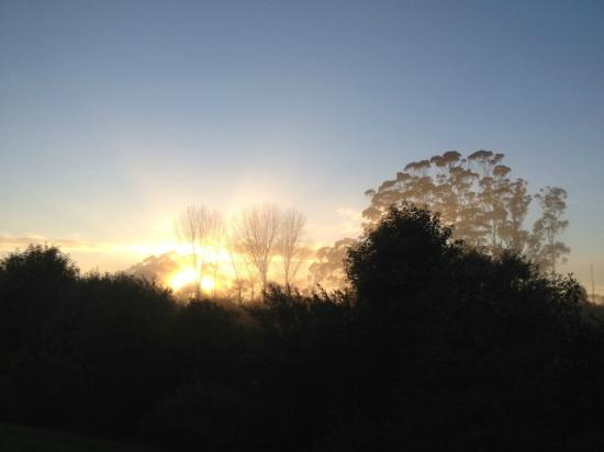 Treghan Luxury Lodge: The spectacular sunrise