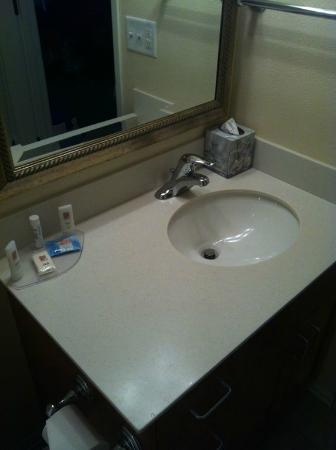 TownePlace Suites Medford: Studio Queen Bathroom