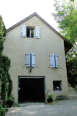 B & B of the Marcs d'Or : The building where the rooms are located