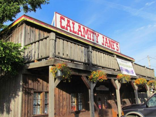 Calamity Jane's Hamburger Restaurant: Outside of restaurant