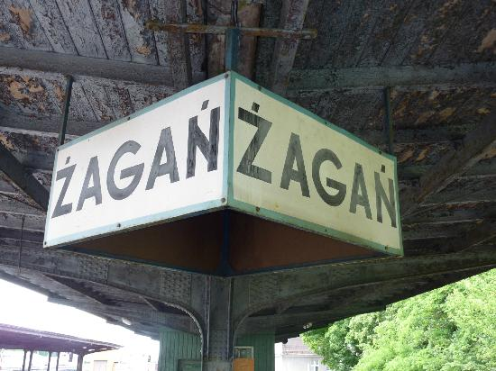 Zagan platform sign