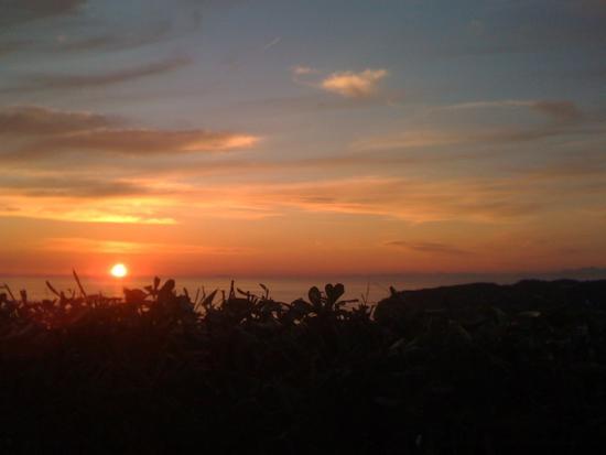 Poggio del Sole: Sonnenuntergang von unserer Terasse