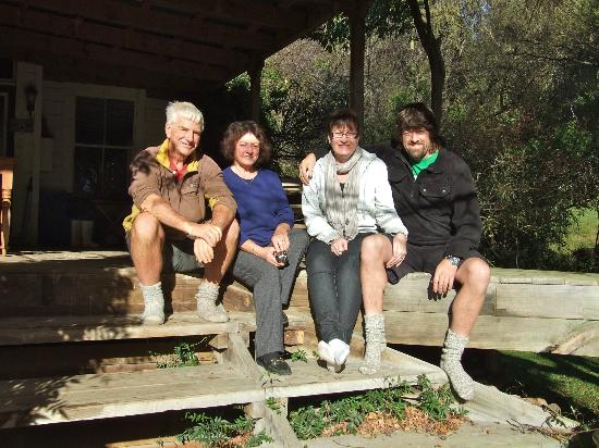 Mairenui Rural Retreat: Our hosts and Us