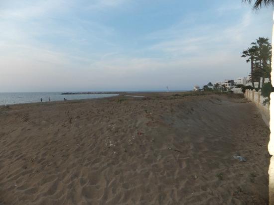 Bahia Azul: Beach from gate