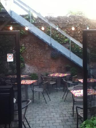 De Graspoort: terrasse
