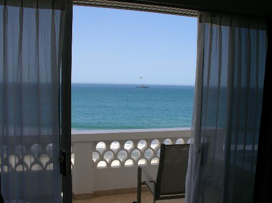Casa Costa Azul: View to the south from inside ocean deluxe king room