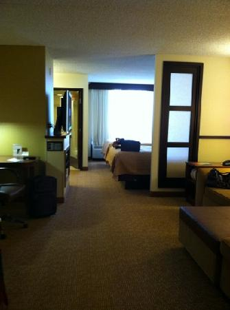Hyatt Place Dublin/Pleasanton: view from living area