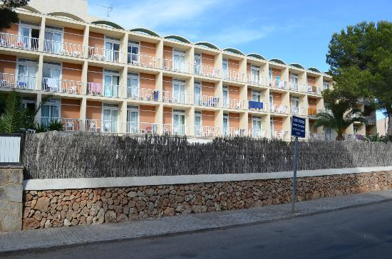 Isla de Cabrera Hotel: hotel