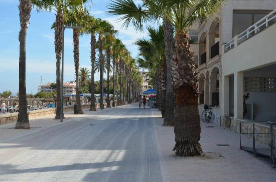 Aparthotel & Hotel Isla de Cabrera: promenade by dolc