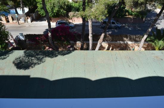 Aparthotel & Hotel Isla de Cabrera: view from balcony