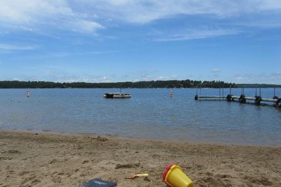 Black Pine Beach Resort: View from the beach 