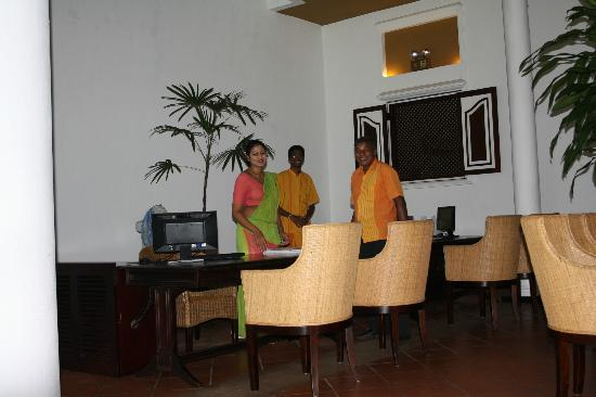 Cinnamon Lodge Habarana : reception