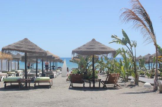 Restaurant Bahia: View towards the sea