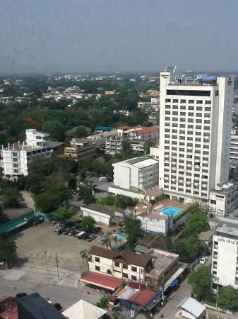 Royal Lanna Hotel: Views from the 21st floor