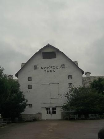 Longaberger Basket Factory/Homestead: Crawford Barn (where to make a basket)
