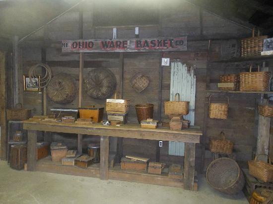 Longaberger Basket Factory/Homestead: J.W.'s workshop