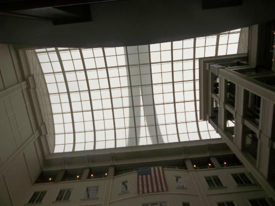 Longaberger Basket Factory/Homestead: Corporate Headquarters  Basket  Handles  Ceiling View