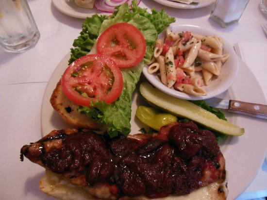 Cirinos At Main Street: BBQ Pork Sandwich